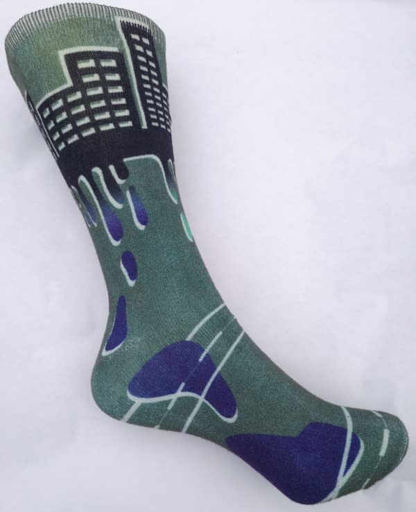 World - City Sock