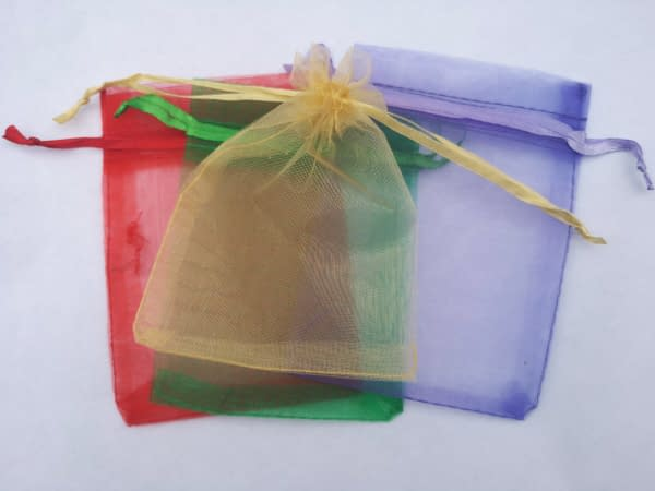 Organza Gift Bags 9x12cm