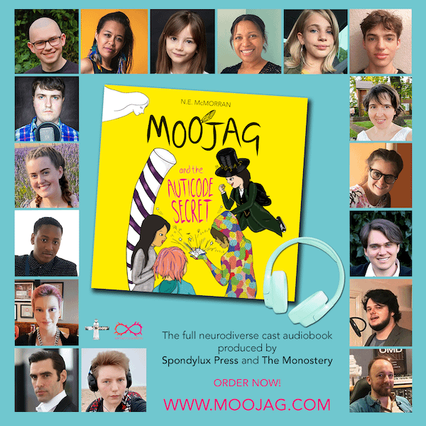 Moojag and the Auticode Secret neurodivergent audiocast